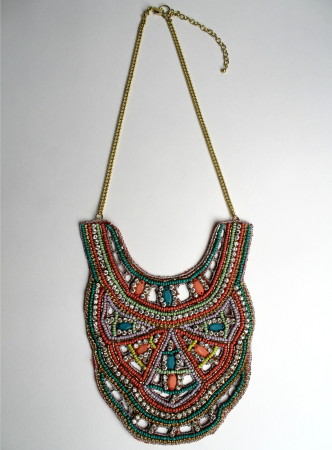 RASHIDA BIB NECKLACE