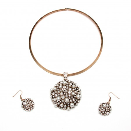 Diana Necklace & Earrings
