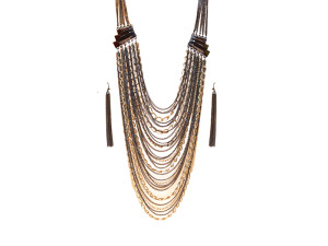 Chaine Maille Necklace Set