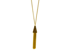 Speakeasy Twinkle Gold Necklace